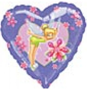 Tinkerbell Magic Heart Balloon