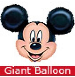 Giant Mickey Mouse Head Balloon