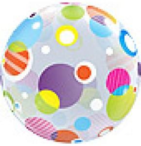 Large Polka Dots Bubble Balloon