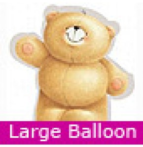 Large Forever Friends Bear Balloon