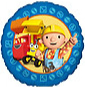 Bob The Builder Helium Balloon