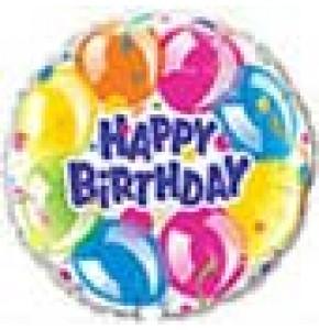 Birthday Sparkling Balloons