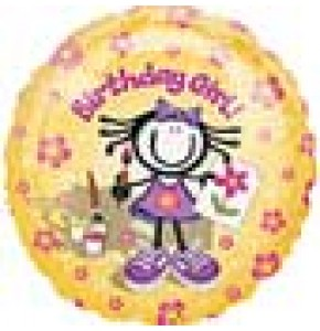 Planet Happy Girl - Order Balloon for Birthday