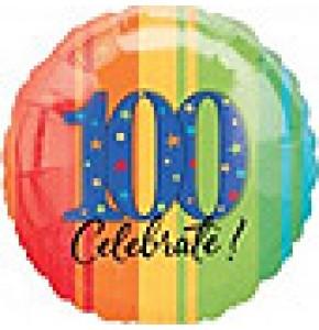 Celebrate 100th Birthday Balloon Gift