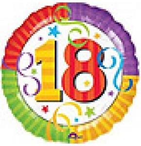 Perfection 18 Birthday Balloon