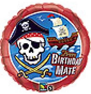 Happy Birthday Pirate Balloon