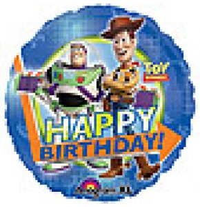 Toy Story Gang Happy Birthday Balloon