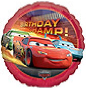 Disney Cars Birthday Champion Balloon