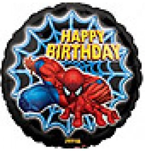 Spider-Man Happy Birthday Balloon