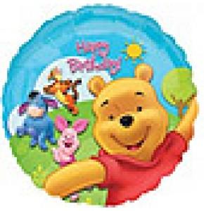 Pooh and Friends Sunny Birthday Balloon