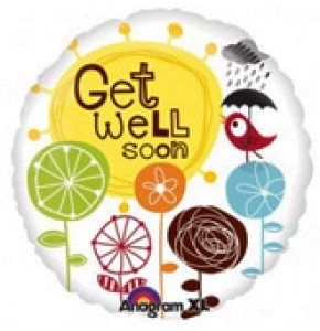 Get Well Messages Balloon Gift