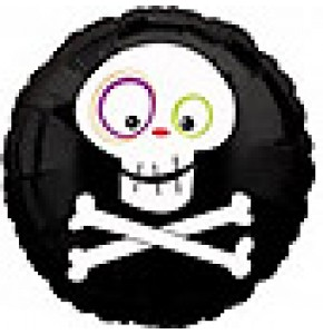 Skull and Crossbones Balloon