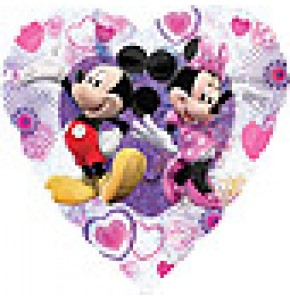 Mickey and Minnie Love Balloon