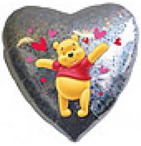 Winnie The Pooh Hearts Balloon