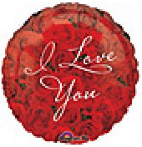 I Love You Roses Balloon