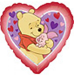 Winnie The Pooh Love Hug Balloon