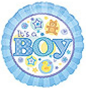 It's A Boy Balloon Gift