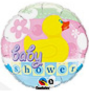 Baby Shower Rubber Duckie Balloon