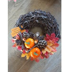 Bramble Style Halloween Wreath