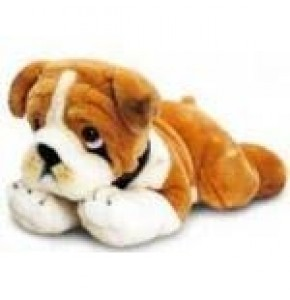 "Bull Dog Puppy Cuddly Toy (12"")"