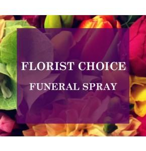 Florists Choice Funeral Spray
