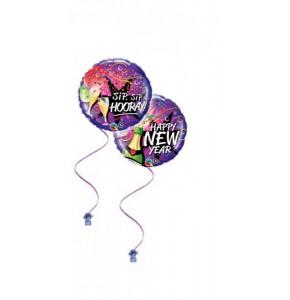 Happy New Year 18 Foil Balloon