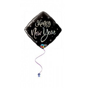 Happy New Year Sparkles 18 Foil Balloon