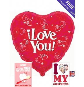 i Love You! - Valentines Day Balloon