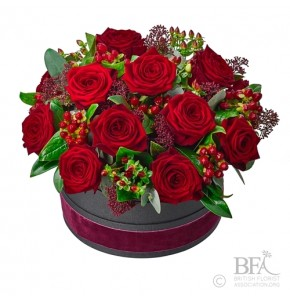Luxury Rose Hatbox