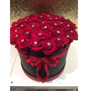 Luxury Rose Hatbox