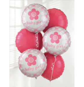 It's A Girl Balloon Bouquet (3)