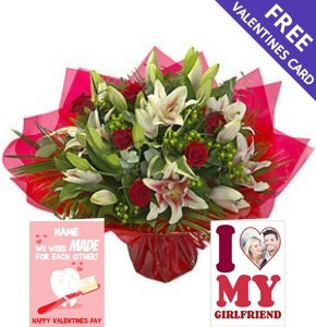 Luxury Valentines Bouquet