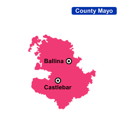 Flower Delivery Mayo Areas